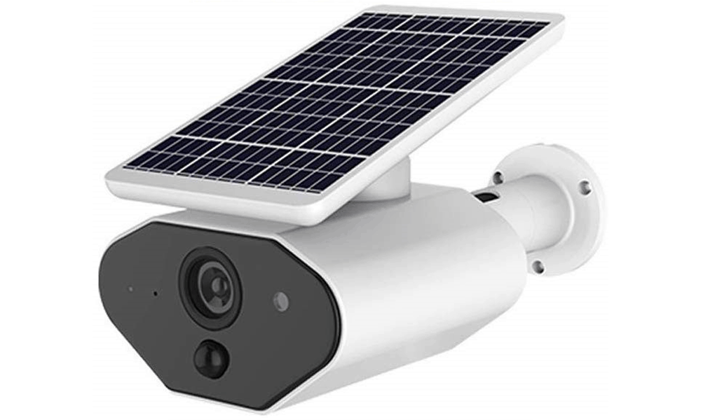 HWZZBCC Solar Powered Wireless Home Security Camera