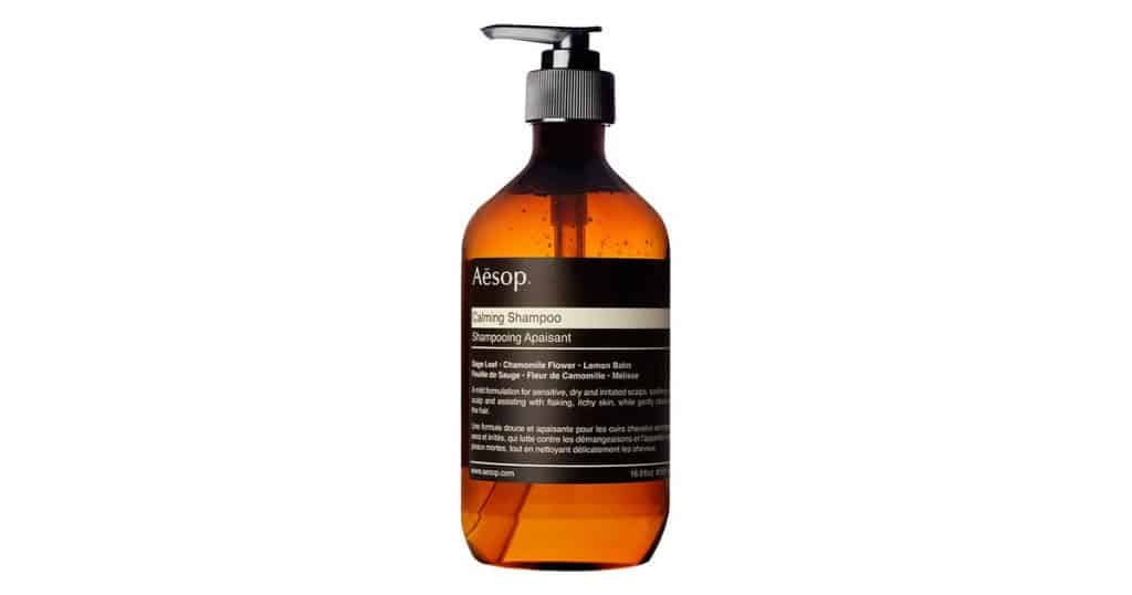 Aesop Calming Shampoo is the best shampoo for oily thin hair, Calming Shampoo with purifying properties,