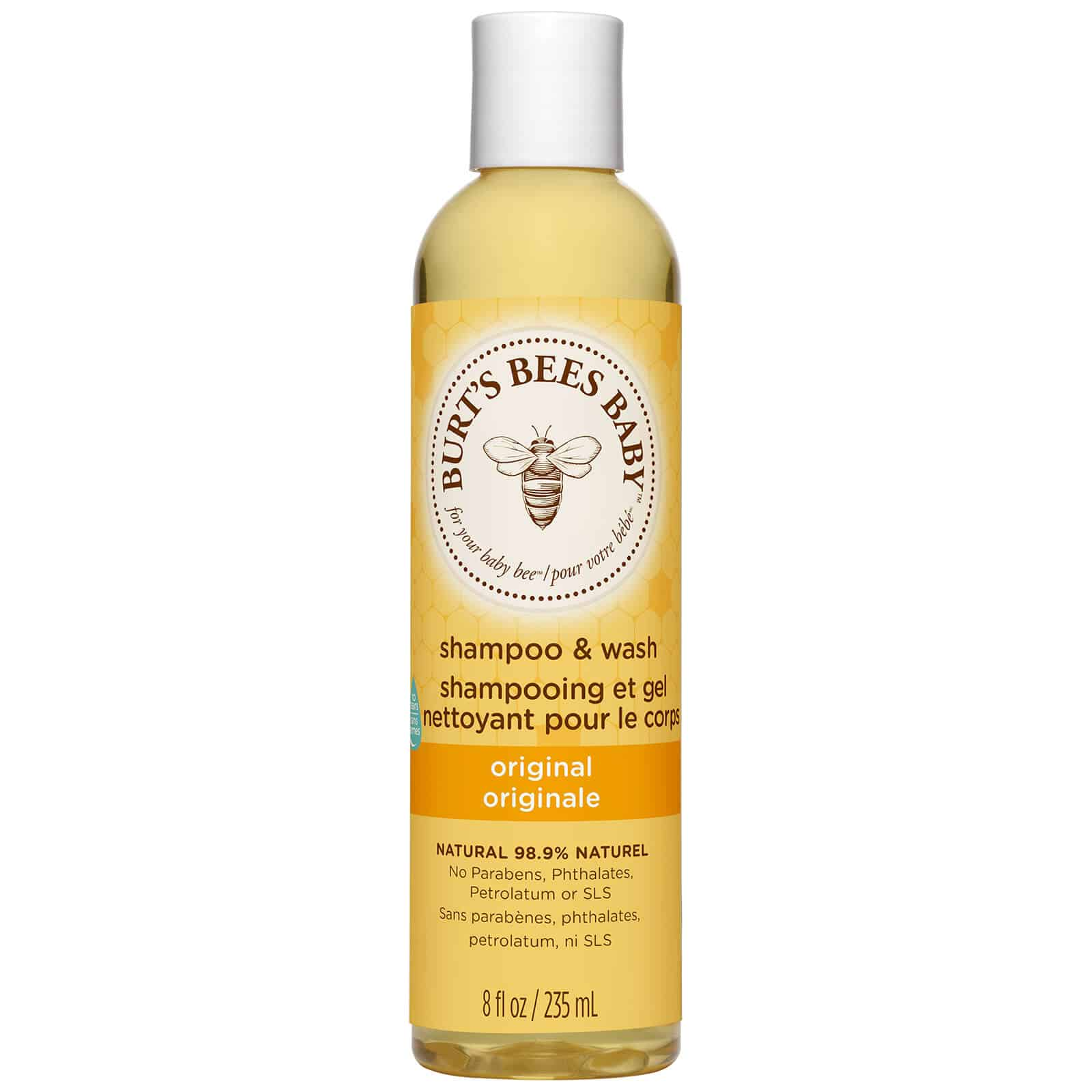 Burt's Bees Baby Organic Shampoo is best shampoo for hair growth and thickening