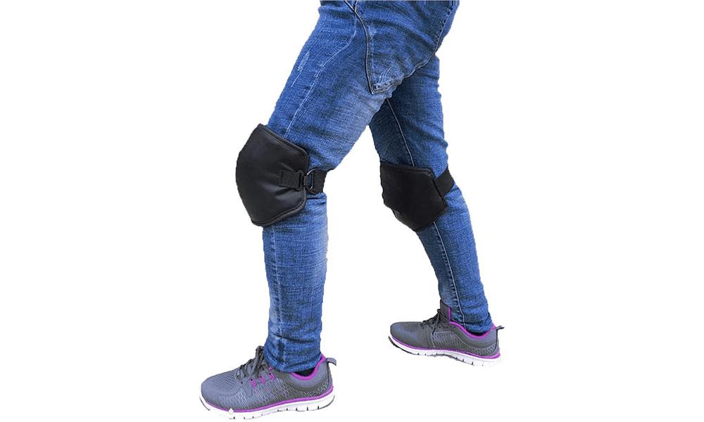 Windproof PU Knee Guards