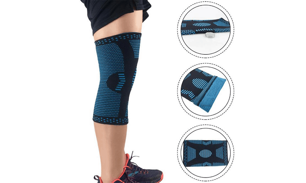 UMION 3D Weaving Sports Knee Guards