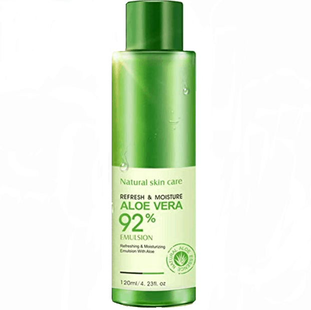 BIOAQUA Natural Aloe Vera Smooth Gel is the best aloe vera gel for acne scars, best aloe vera gel for face in singapore malaysia