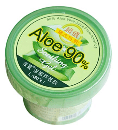Laikou Natural Aloe Vera Gel is the best organic aloe vera gel for face in Singapore, Can I leave natural aloe vera on my face overnight? aloe vera is a super ingredient for sensitive skin and is suitable to leave overnight on affected areas.
