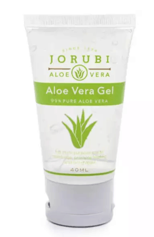 Jorubi Aloe Vera Gel is soothing gel with aloe, my skin is so smooth after hair removal, and even helps to relieve mild piles