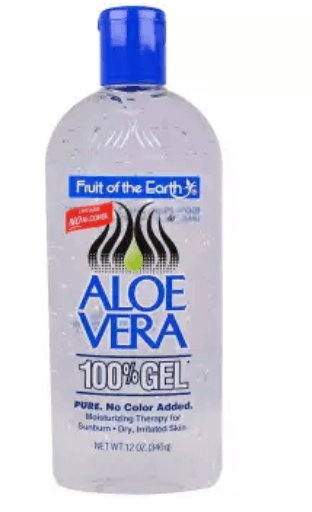 Fruit of The Earth Aloe Vera Gel is the best aloe vera gel for acne scars, Enjoy instant relief after your day out in the sun and preserve your tan at the same time with Nature's miracle plant is the best organic aloe vera gel for face
