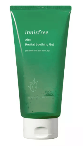 Innisfree Aloe Revital Soothing Gel is the best soothing gel with aloe, Is aloe vera gel good for itchy skin? if you suffer from general irritation that is causing your rash to itch and be very uncomfortable, this gel will be effective to reduce the itch and suffering, even giving a respite from the feelings of burn