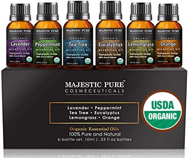 MAJESTIC PURE Aromatherapy Essential Oils Set, Are majestic pure essential oils good?,Is Majestic pure organic?, What brands of essential oils are 100 pure?