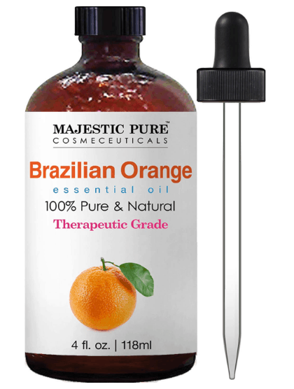 Majestic Pure Brazilian Orange Essential Oil