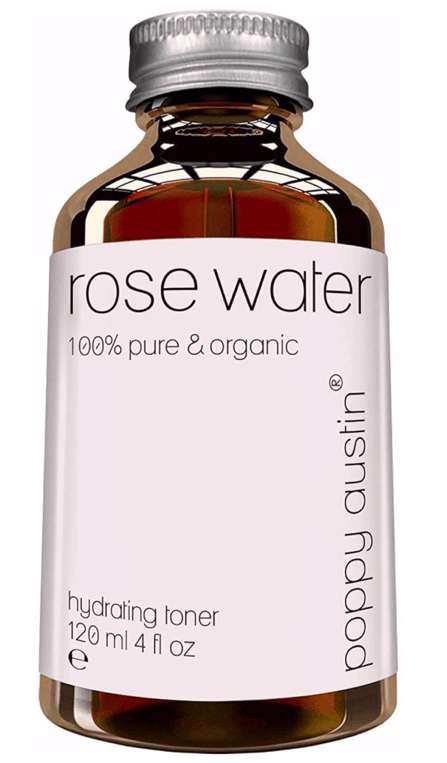 Pure Rose Water Facial Toner by Poppy Austin