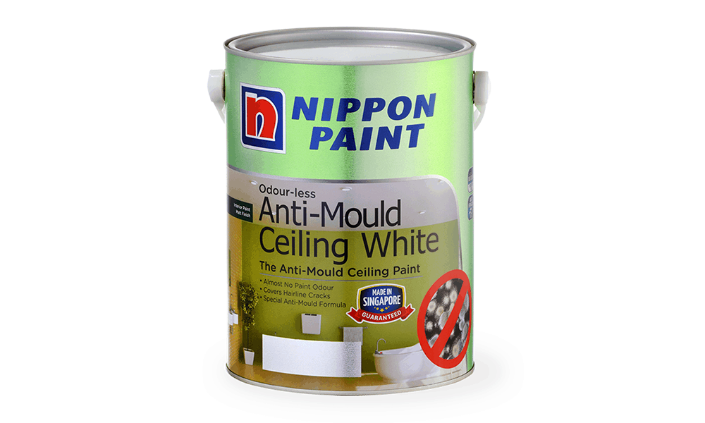 Nippon Paint Anti-Mould for Ceilings Paint