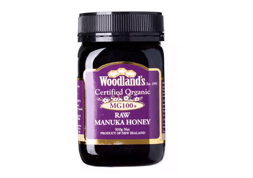 Woodland's Certified Organic Raw Manuka Honey