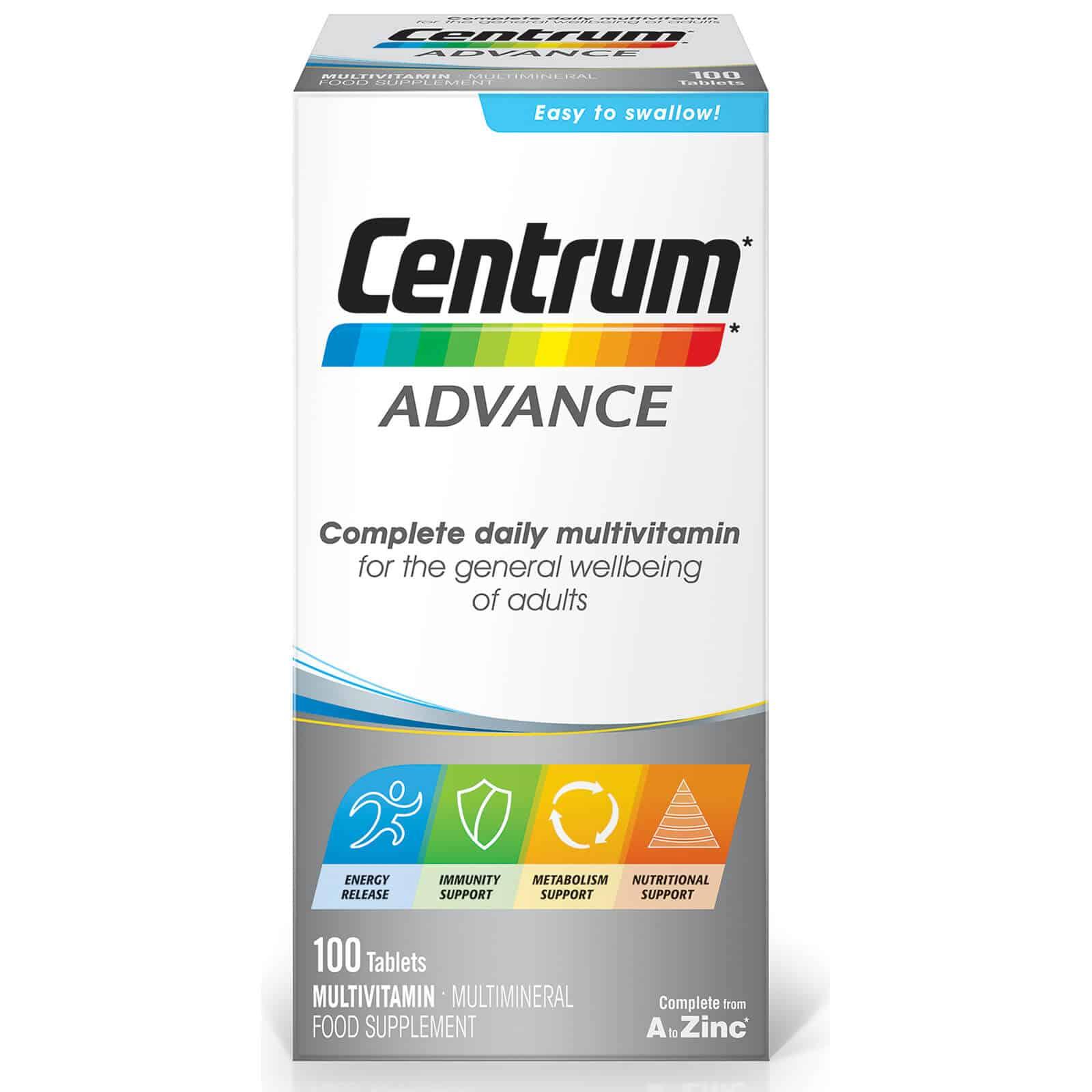 Centrum Advance Multivitamin