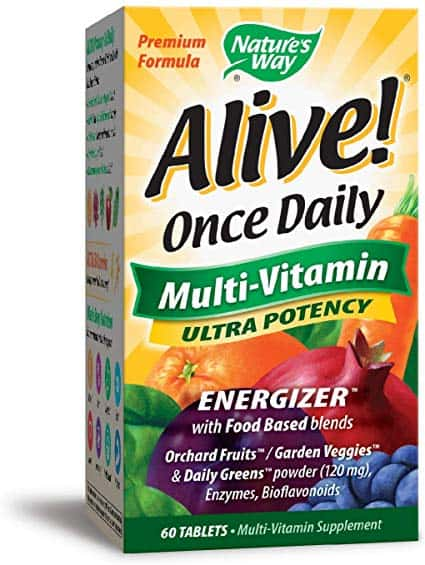 Nature's Way Alive! Once Daily Adult Multivitamin