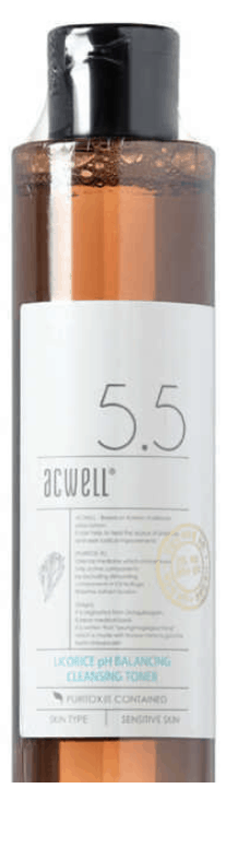 ACWELL Licorice Ph 5.5 Balancing and Cleansing Toner