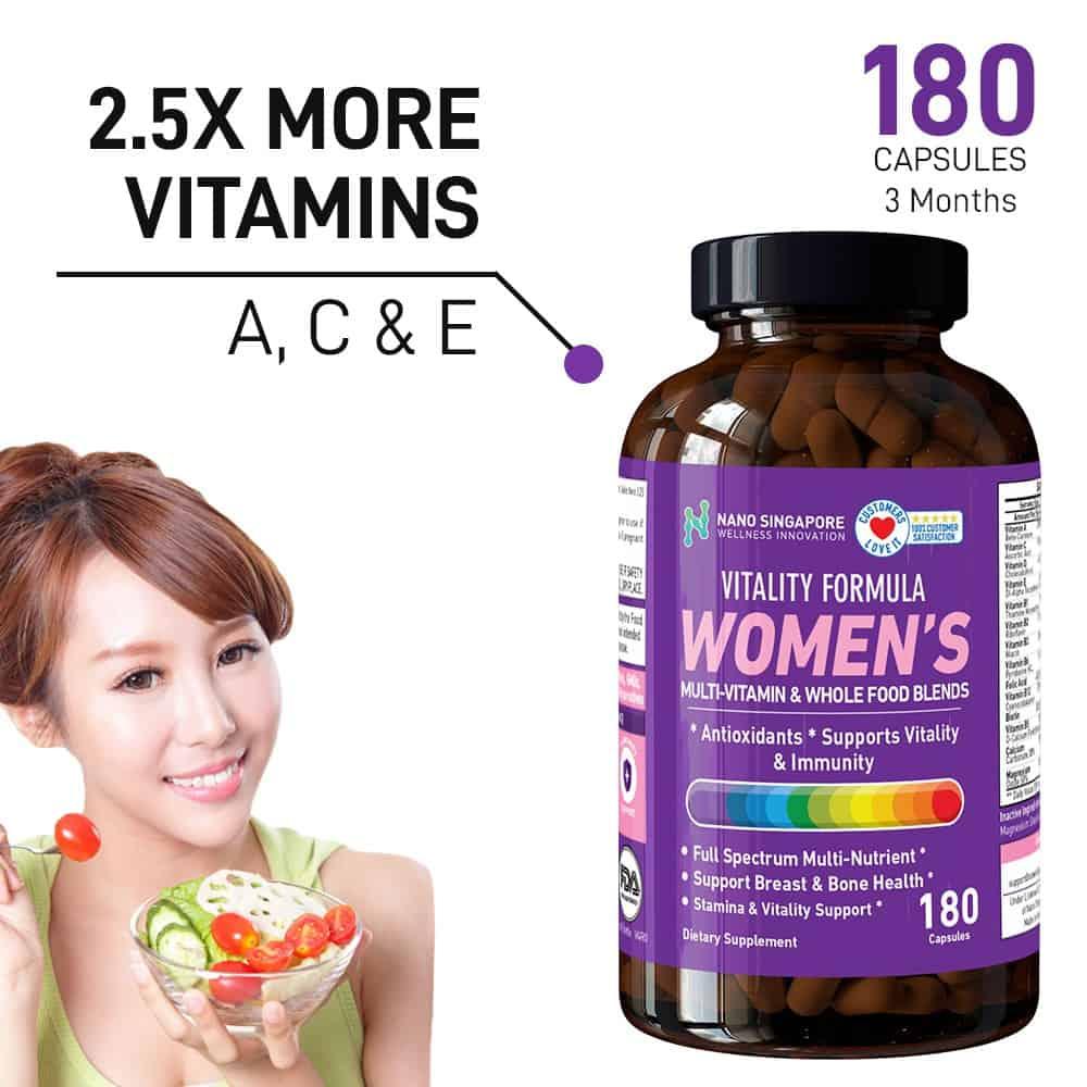 Nano Singapore Women's Vitality Formula