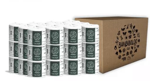 Bambooloo Premium White Toilet Paper