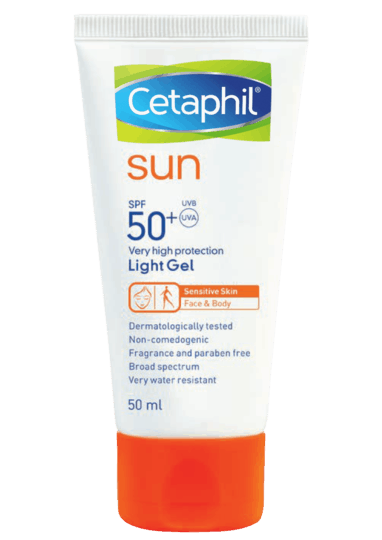Cetaphil Sun Light Gel Sunscreen