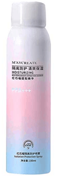 MAYCREATE Moisturizing and Whitening Sunscreen