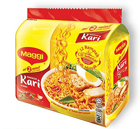 MAGGI 2-Min Curry Noodles