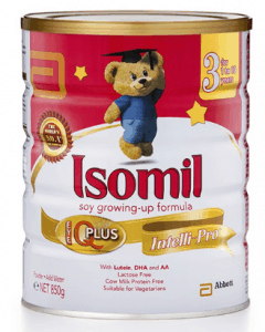 Which is the best milk powder for newborn? Isomil® Stage 2 Soy Follow-On Formula, formula milk singapore motherhood