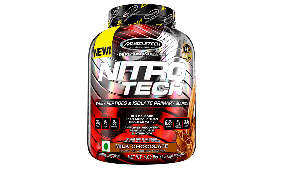 MuscleTech Performance Series NitroTech Whey Protein Powder