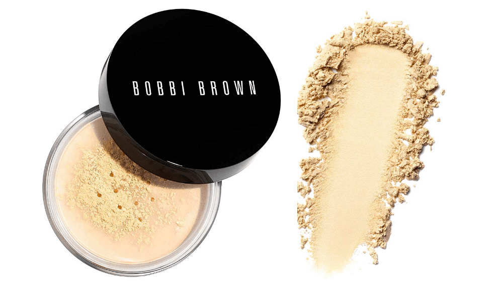 Best loose powder for oily skin singapore is  Bobbi Brown Sheer Finish Loose Powder