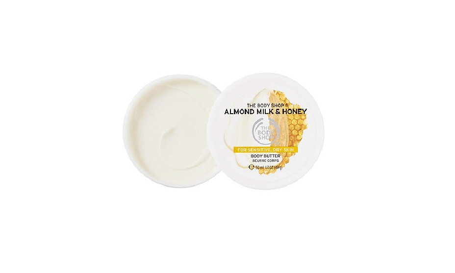 The Body Shop Almond Milk and Honey Soothing and Restoring Body Butter
