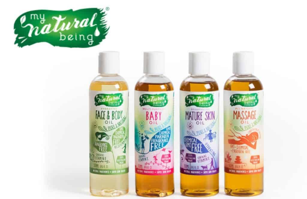 My Natural Being Massage Oil Singapore