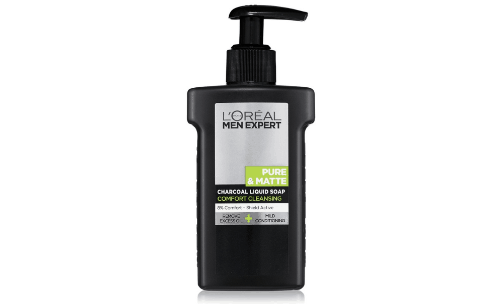 best charcoal face wash for men