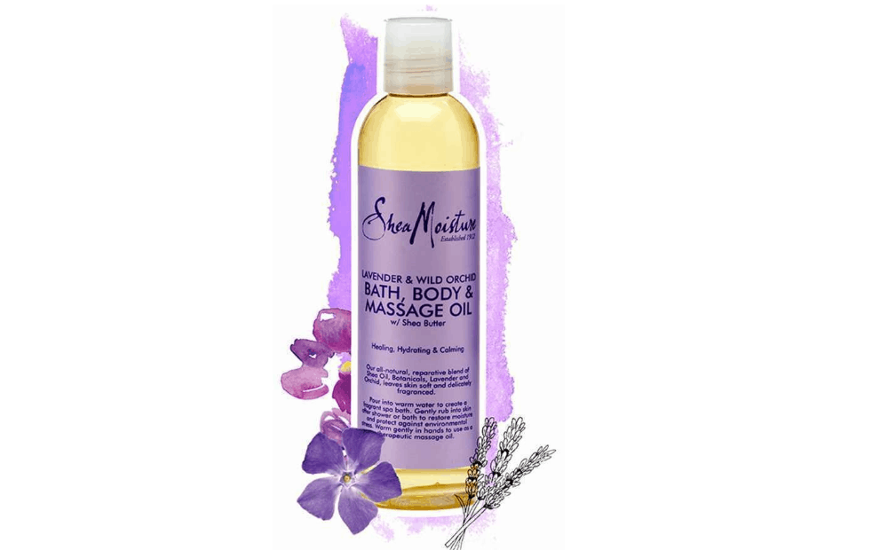 SheaMoisture Lavender and Wild Orchid Bath, Body and Massage OIl