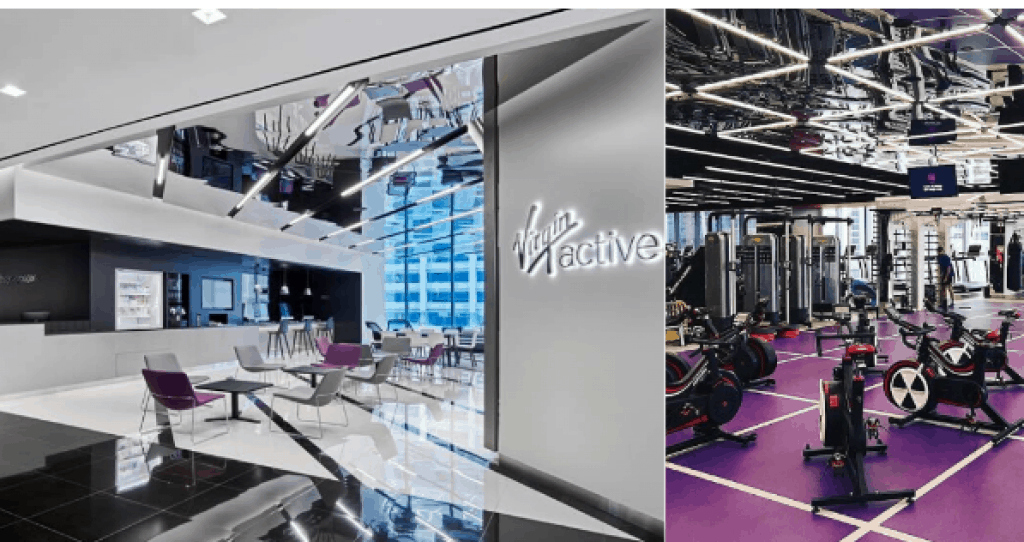 How much is Virgin Active per month?