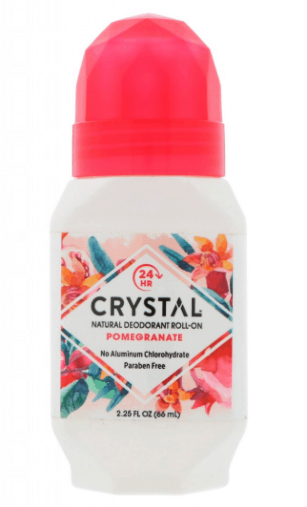 Crystal Natural Roll-on Deodorant is top 12 natural deodorants that work best in sweaty Singapore, 13 Best Deodorants For Singapore (2021 2022) To Keep You odor free, 13 Natural Deodorants in Singapore That Actually Work