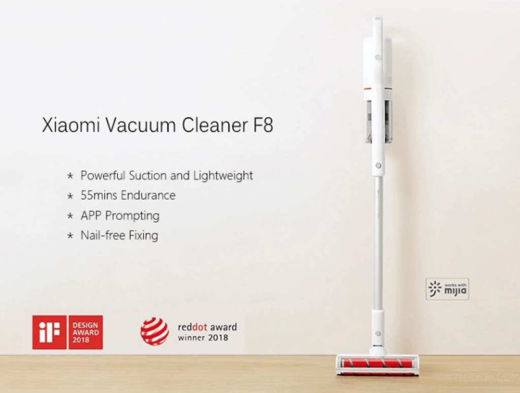 Xiaomi Roidmi F8 Handheld Vacuum Cleaner is 10 Best Cordless Vacuum Cleaners Singapore,  Which is the best handheld cordless vacuum cleaner?, Which cordless vacuum is the best Singapore?, Which brand of cordless vacuum cleaner is the best?, best cordless handheld vacuum cleaner singapore, Handheld Vacuum Cleaners Price List in Singapore