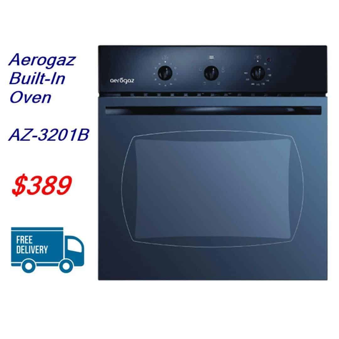 Aerogaz Built-In Oven AZ-3201B (FREE DELIVERY & INSTALLATION ...