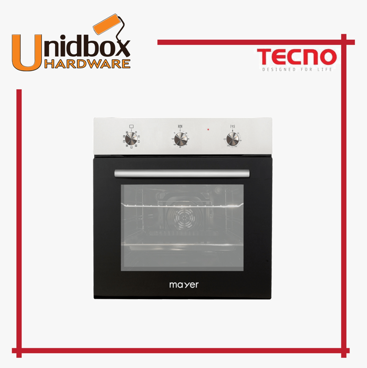 Mayer MMDO9 60CM Built-in Oven/Mayer/Kitchen Appliance/Oven/Multi ...