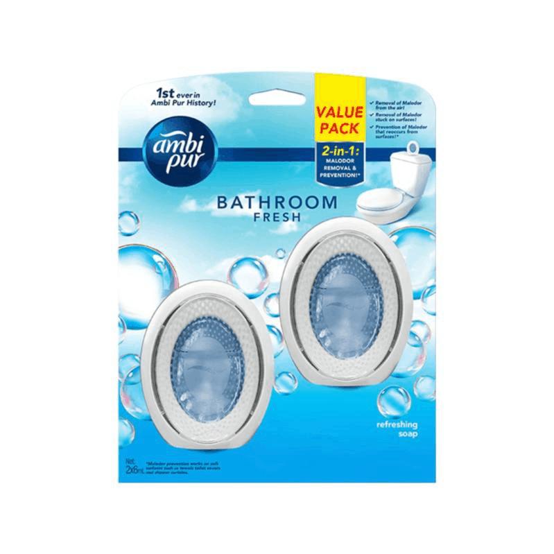bestair freshener fortoilet Ambipur bathroom fresh Ambi Pur Toilet Fresh 6ml x2