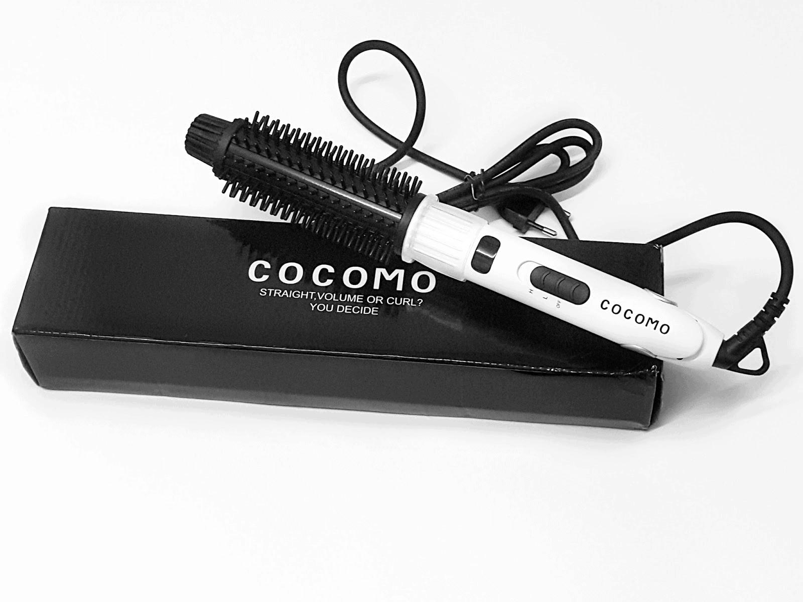 Cocomo 2 in 1 Hair Straightener & Curler