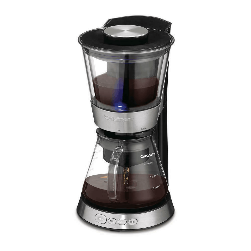 Cuisinart Cold Brew Coffee Maker 10W is the best coffee machine for home use. Easy and cheap coffee machine that is suitable for the lazy singaporeans
