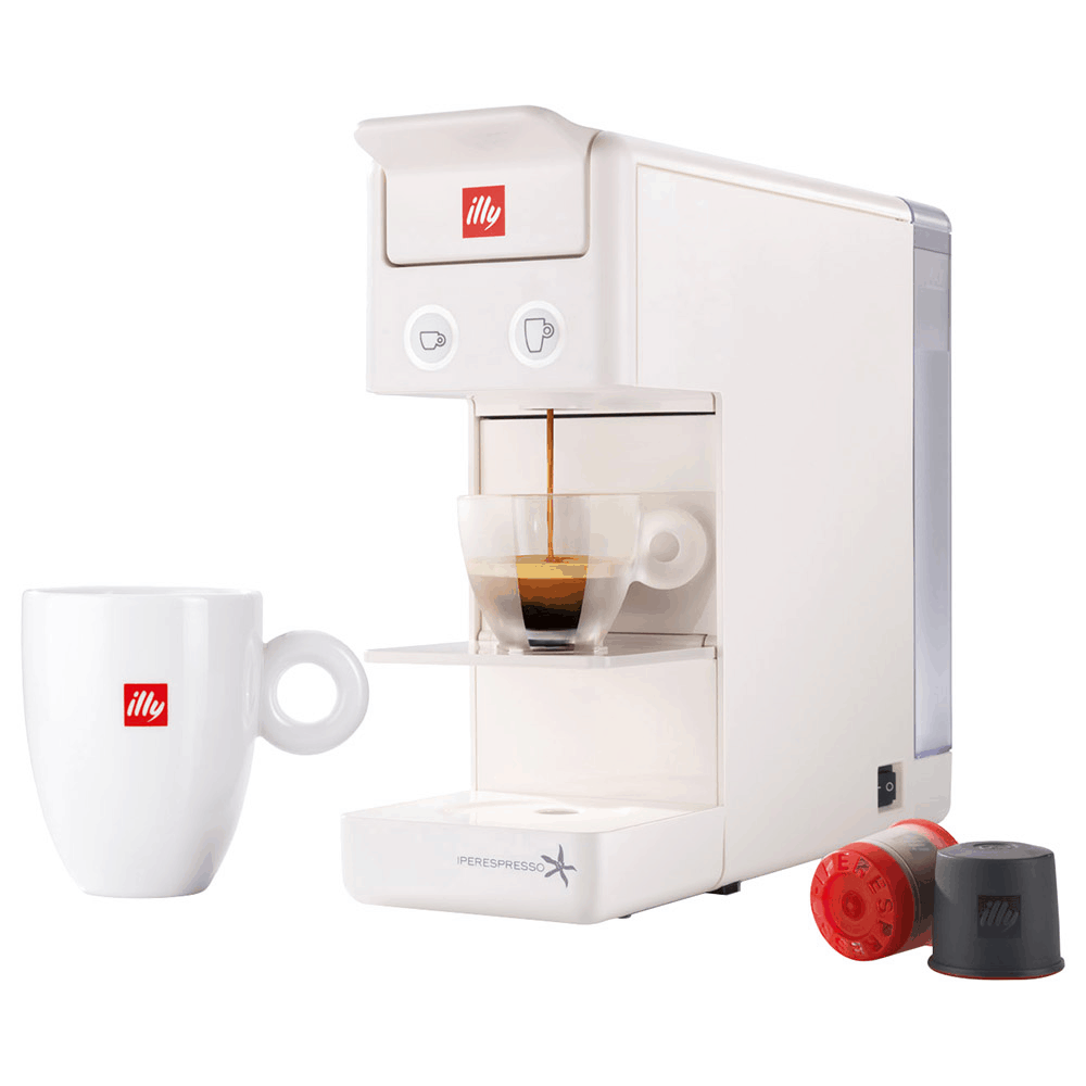 illy Y3.2 iperEspresso and Coffee Machine is the best coffee machine for home use sg