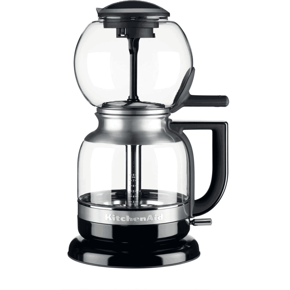 KitchenAid - Siphon Coffee Maker 5KCM0812BOB is the best drip coffee maker for home use. Sleek design and good coffee steeping.