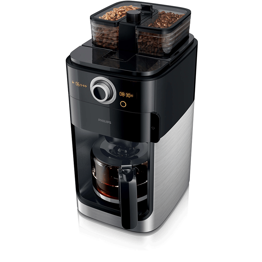 Philips Grind and Brew Coffee Maker - HD7762/00 is better than breville coffee machine. it is the type of coffee maker that makes the best tasting coffee