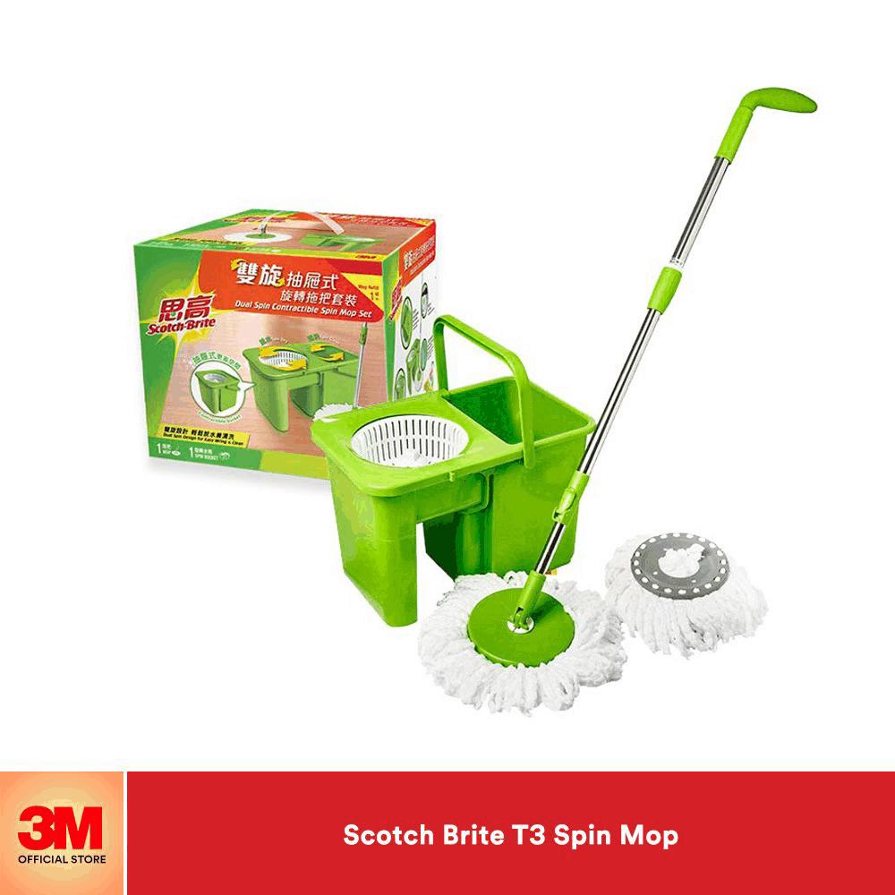 3M Scotch Brite T3 spin mop