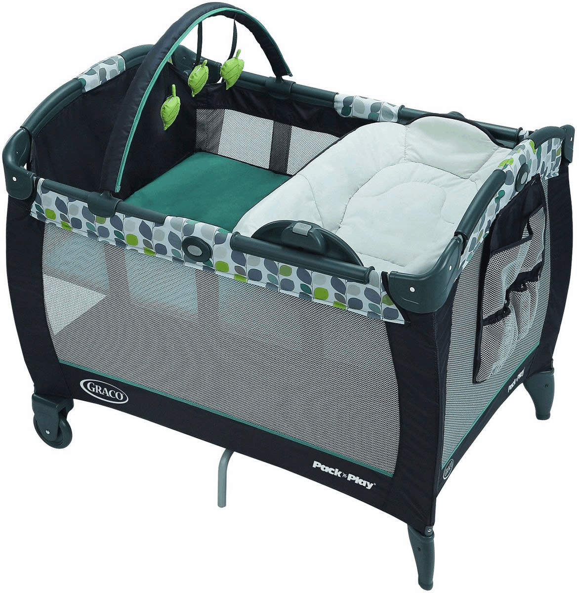 best safe baby cot in singapore is Graco Pack N Play Playard With Reversible Napper & Changer LX Playpen - Boden.
