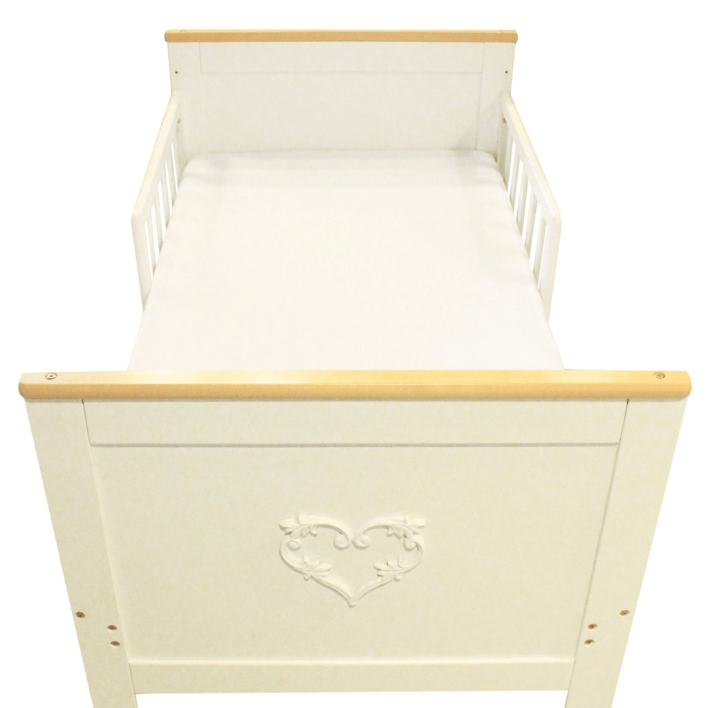 CBM1005A Lucky Baby Jewel Convertible Natural Cot the best Convertible Wood Baby Crib in Singapore for infants. online Store Singapore