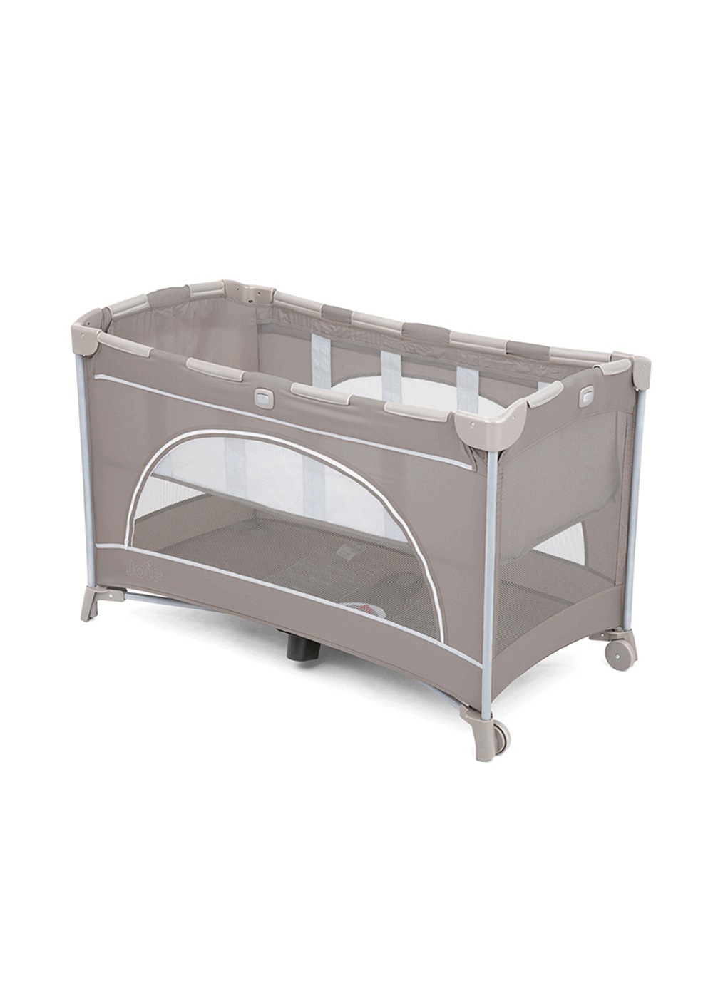 Joie Allura 120 Playpen Dots with cushioned Rounded Edges For Safety is the best Baby and Crib Bedding in Singapore for newborns