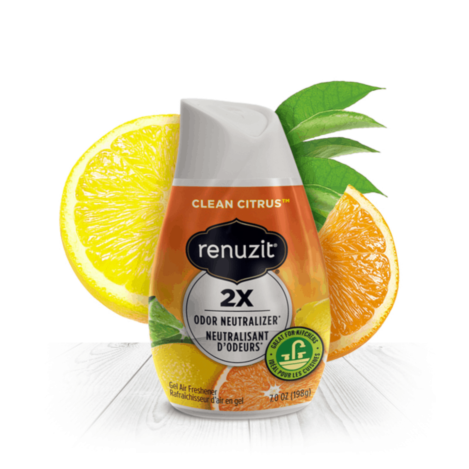 Renuzit Gel Air Freshener - Clean Citrus, 198g is the safest gel air fresheners. However best to keep out from small children as little kids should not be allowed toplay with them or eat them.