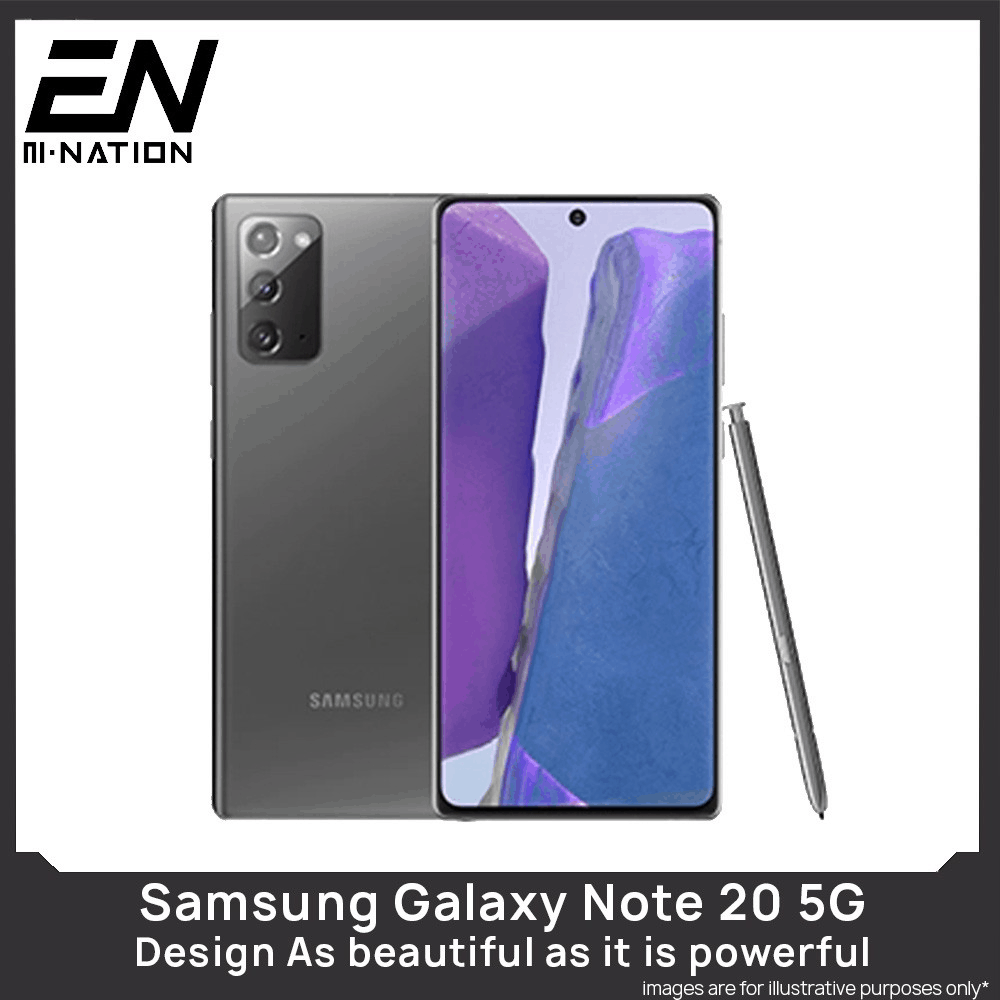 Samsung Galaxy Note 20 5G (8GB, 256GB) price and review Singapore 2020