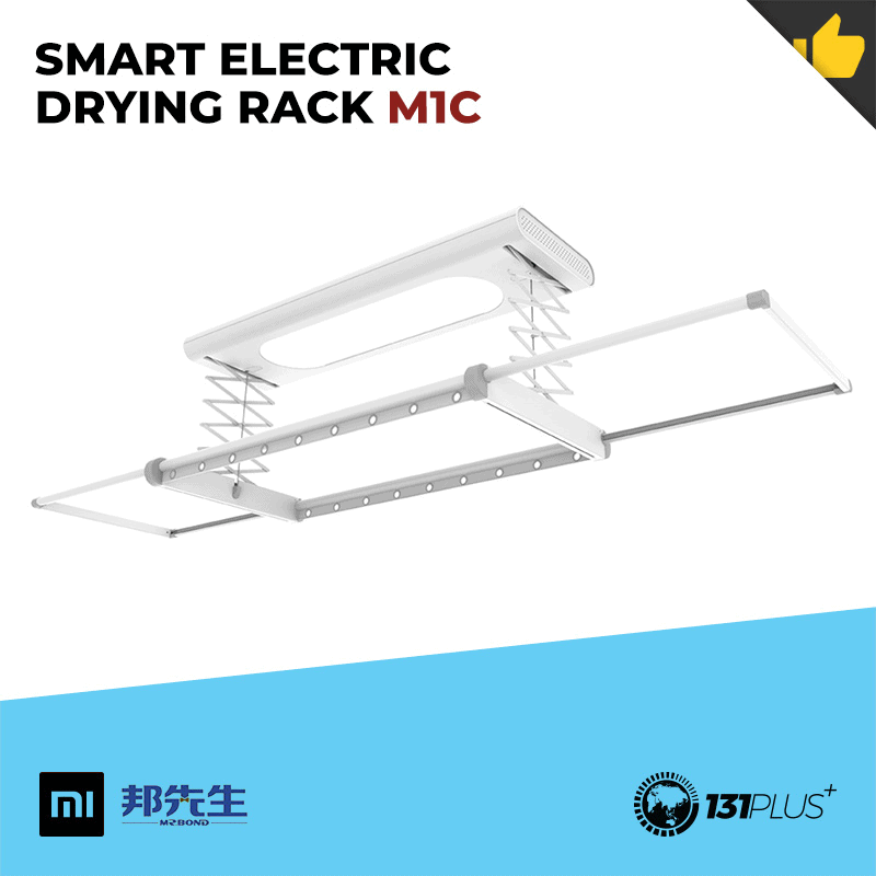 Xiaomi Mr. Bond Smart Electric Drying Rack [ 3 Models, Dryer, 30kg Load Capacity, APP Control, Voice Control, Compact ]