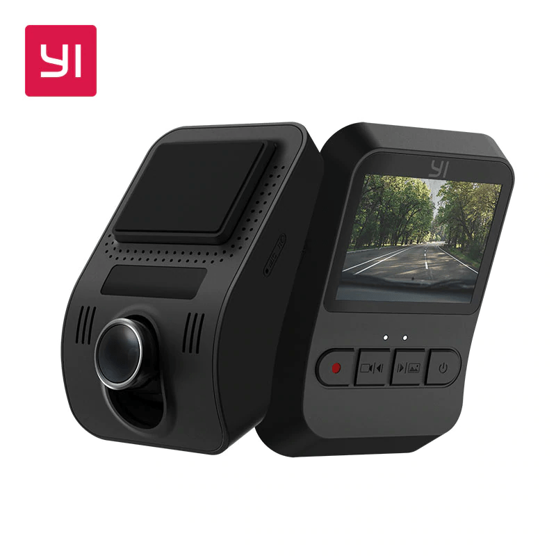 YI Mini Dash Camera Car DVR is The 5 Best Front and Rear Dash Cams record clearly