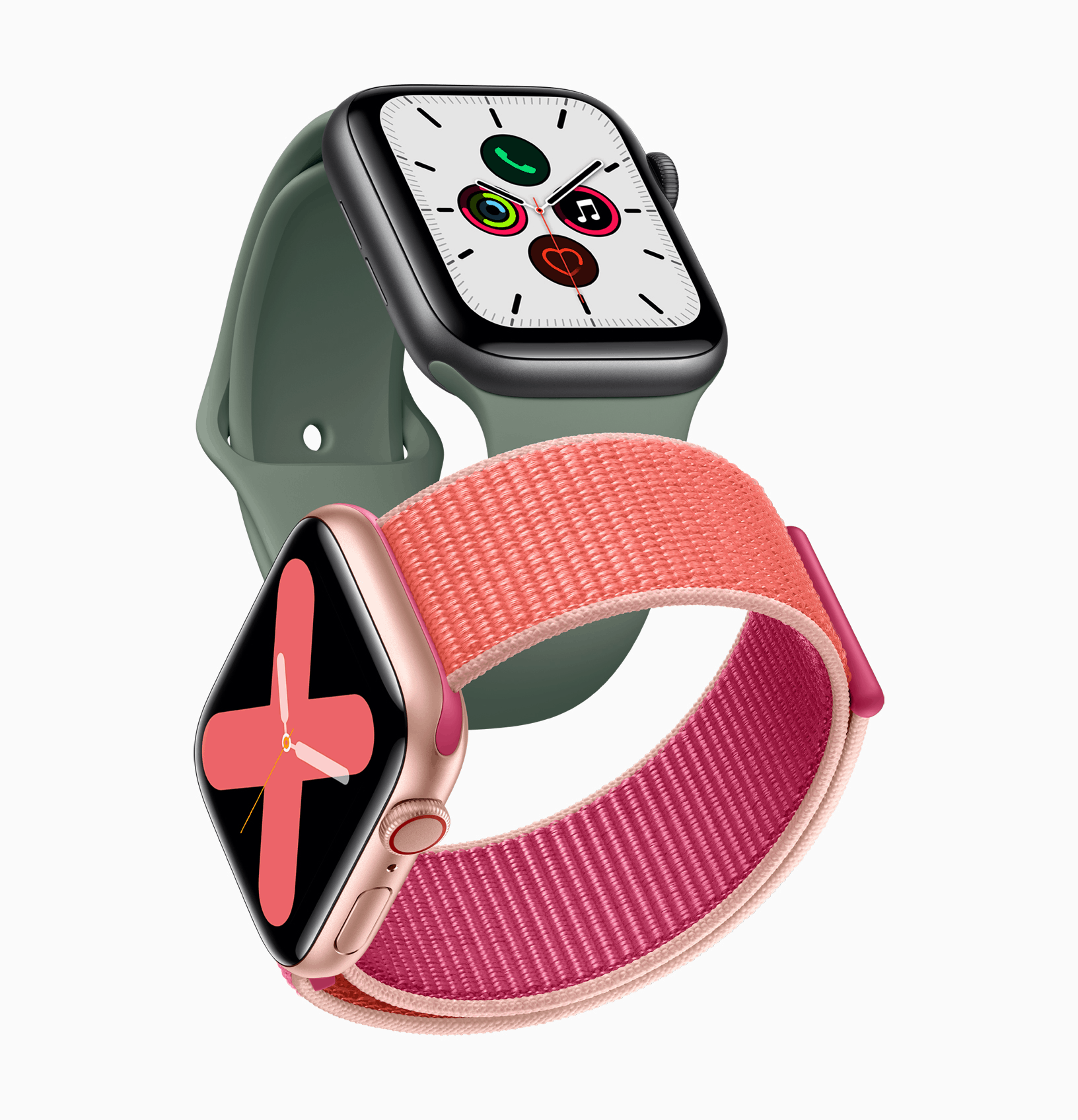 apple watch 5 compare